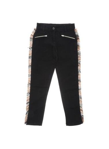 Panço Kız Çocuk Pantolon 18221010100 Siyah